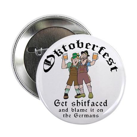 "Funny Oktoberfest 2.25"" Button (10 pack)"