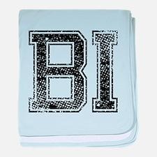 BI, Vintage baby blanket
