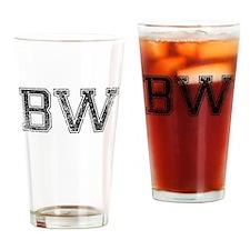BW, Vintage Drinking Glass