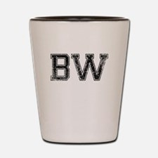BW, Vintage Shot Glass