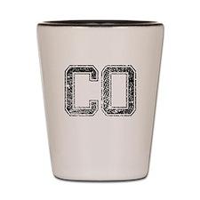 CO, Vintage Shot Glass