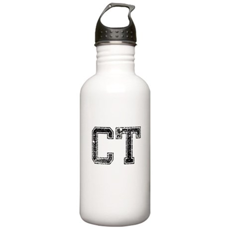 CT, Vintage Stainless Water Bottle 1.0L