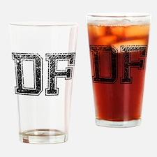 DF, Vintage Drinking Glass