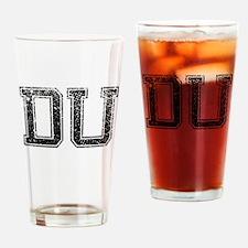 DU, Vintage Drinking Glass