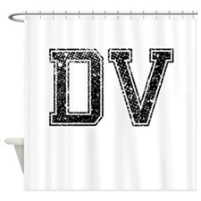 DV, Vintage Shower Curtain