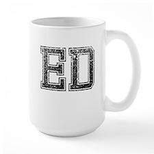ED, Vintage Mug