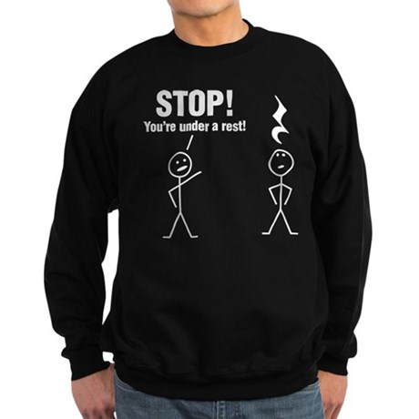Stop! Sweatshirt (dark)