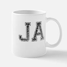 JA, Vintage Mug