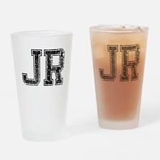 JR, Vintage Drinking Glass
