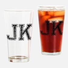 JK, Vintage Drinking Glass