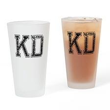 KD, Vintage Drinking Glass