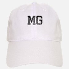 MG, Vintage Baseball Baseball Cap
