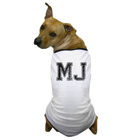 MJ, Vintage Dog T-Shirt
