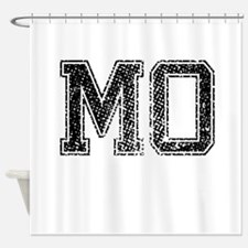 MO, Vintage Shower Curtain