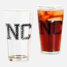 NC, Vintage Drinking Glass