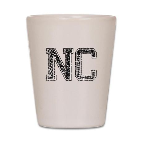 NC, Vintage Shot Glass