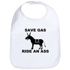 SAVE GAS RIDE AN ASS Bib