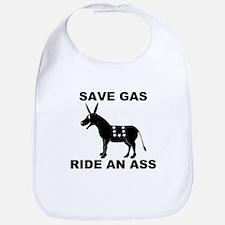 SAVE GAS RIDE AN ASS Bib