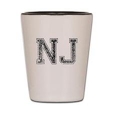 NJ, Vintage Shot Glass