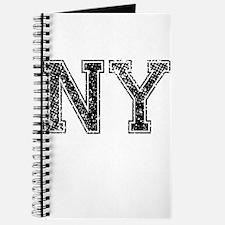 NY, Vintage Journal