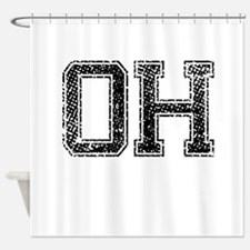 OH, Vintage Shower Curtain