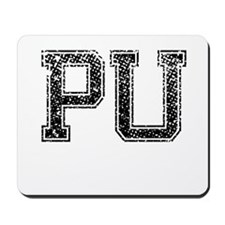 PU, Vintage Mousepad