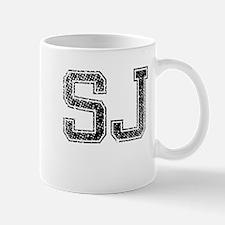 SJ, Vintage Mug