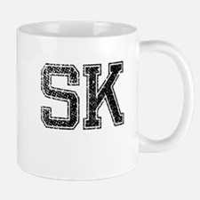 SK, Vintage Mug