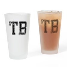 TB, Vintage Drinking Glass
