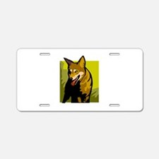 Dingo Aluminum License Plate