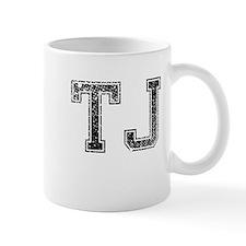 TJ, Vintage Mug
