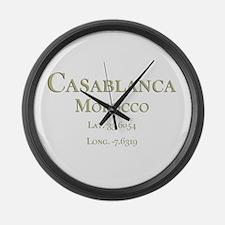 Casablanca-1.png Large Wall Clock