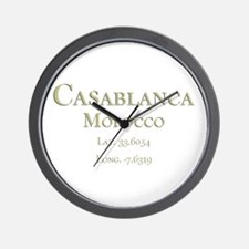 Casablanca-1.png Wall Clock