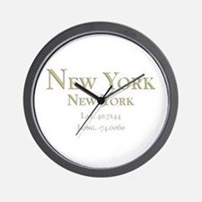 New York-1.png Wall Clock