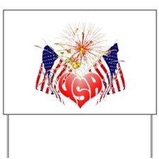 Celebrate America 5 Yard Sign