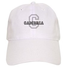 Cambria (Big Letter) Baseball Cap
