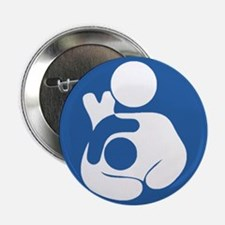 "Extended breastfeeding 2.25"" Button"