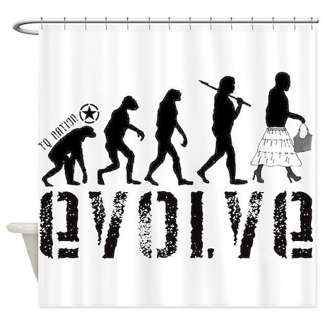 Shower Curtain - EVOLVE