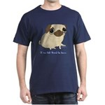 Bacon Pug Dark T-Shirt
