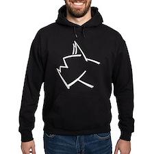 American Boxer Dog Logo Hoodie