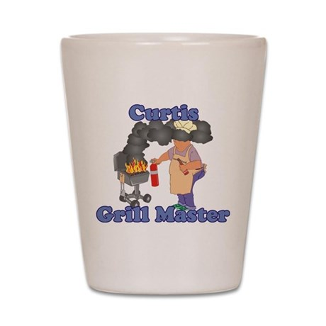 Grill Master Curtis Shot Glass