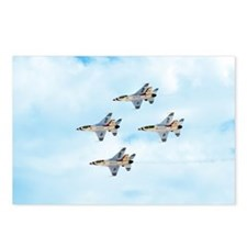 Thunderbirds in Flight Postcards (Package of 8)