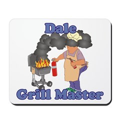 Grill Master Dale Mousepad