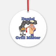 Grill Master Daniel Ornament (Round)
