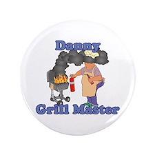 """Grill Master Danny 3.5"""" Button"""