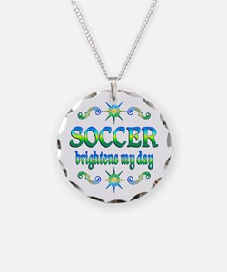 Soccer Brightens Necklace