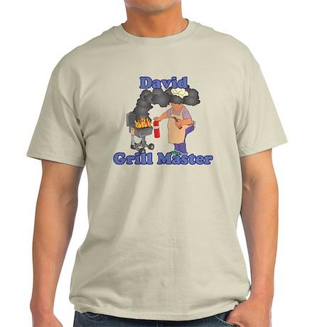 Grill Master David Light T-Shirt