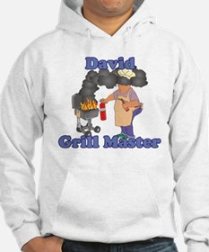 Grill Master David Hoodie
