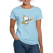 mello_horn black T-Shirt