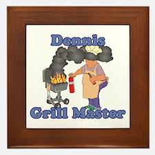 Grill Master Dennis Framed Tile